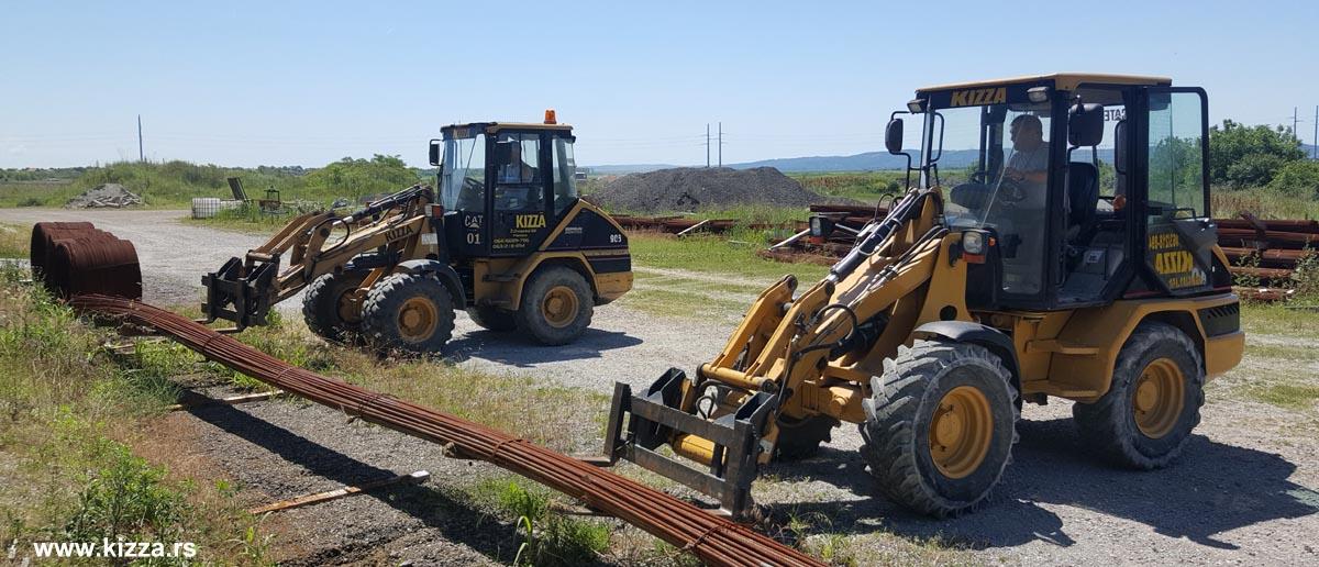 Utovar i istovar - Prevoz materijala - Prevoz mašina